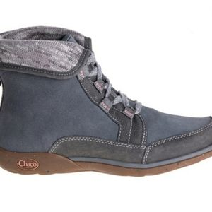 Chaco Barbary Fold Down Leather Boots